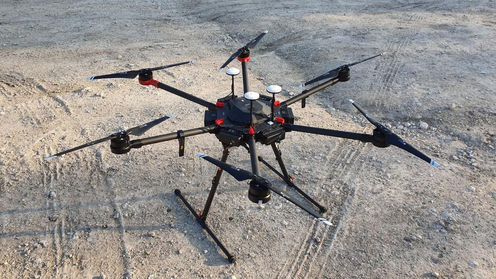 The IDF drone taken and used by Hamas (Photo: Yoav Zitun)