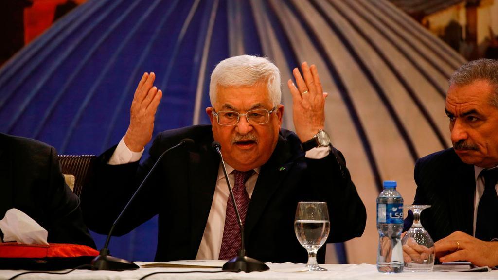 President of the Palestinian Authority Mahmoud Abbas  ()