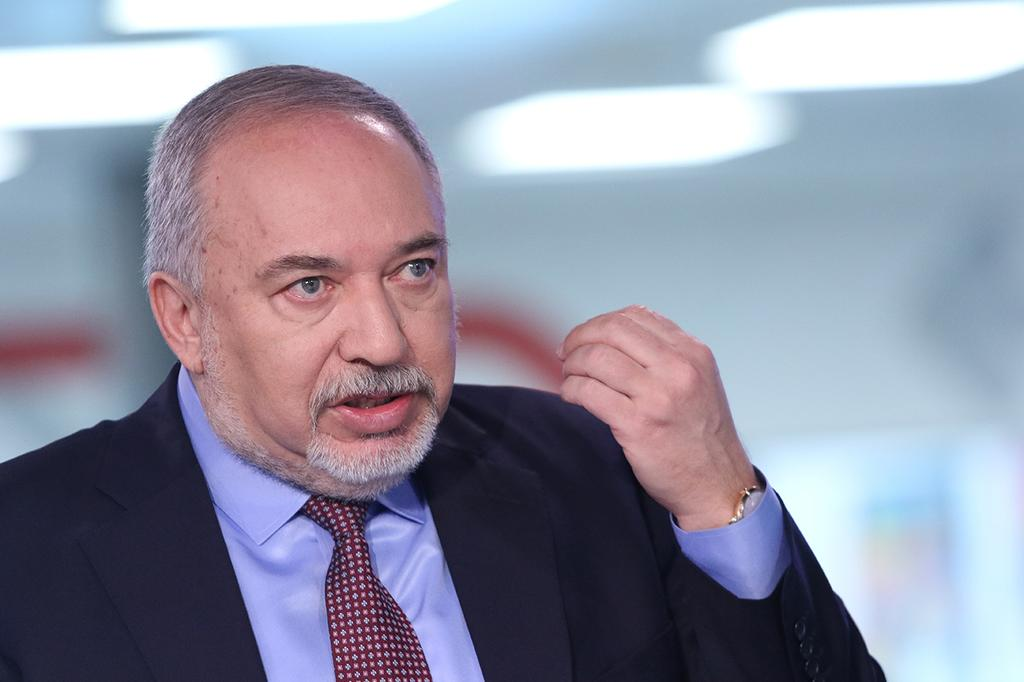 Avigdor Liberman  (Photo: Avi Moalem)