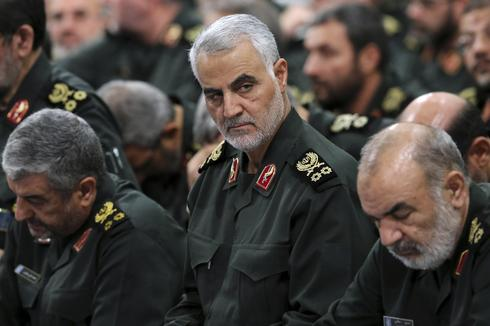 Revolutionary Guard Gen. Qassem Soleimani  ()