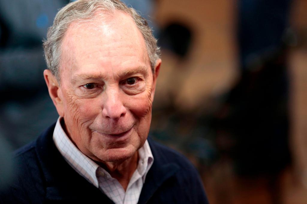 מייקל בלומברג (צילום: AFP)