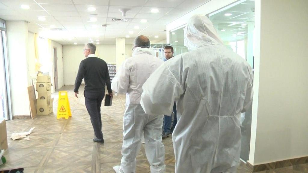 Medical staff at Sheba Medical Center  ()