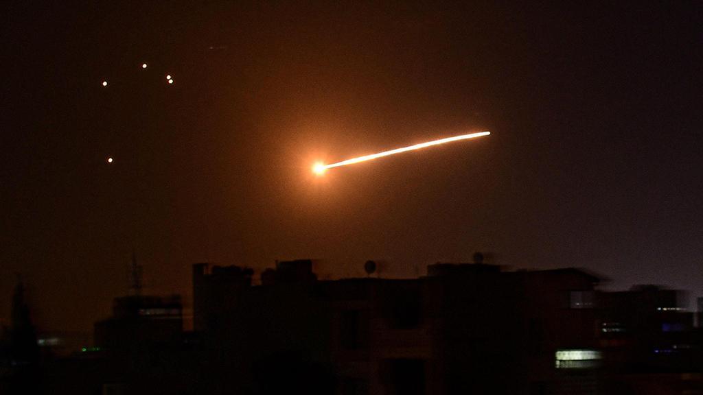 Syrian air defenses intercept alleged Israeli missiles  ()
