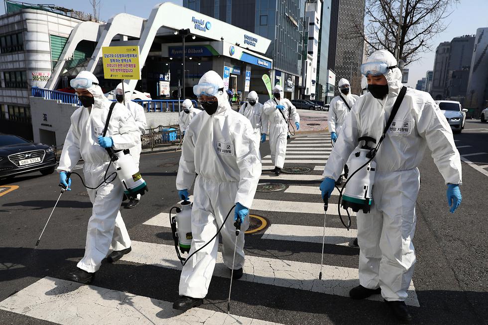 צעדים דרמטיים בישראל? בקוריאה מחטאים את מעברי החצייה (צילום: gettyimages)