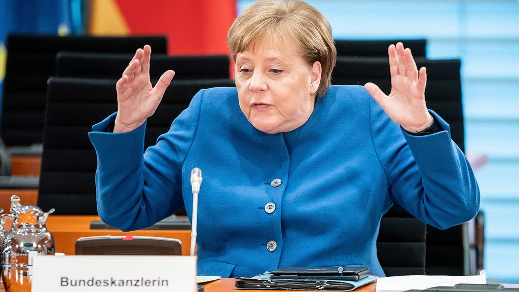 German Chancellor Angela Merkel  ()