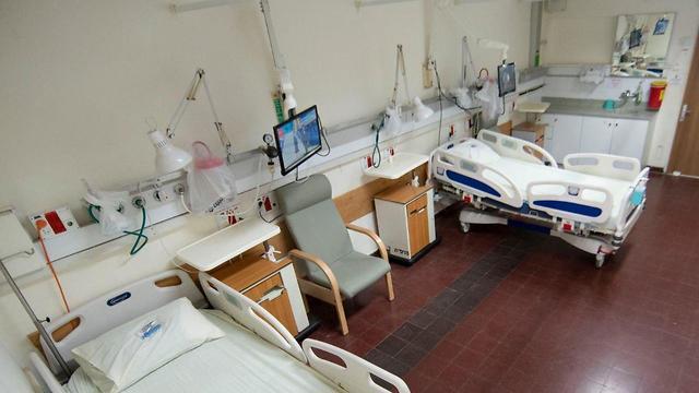 Палата для больных коронавирусом. Фото: Рами Зеренгер ()