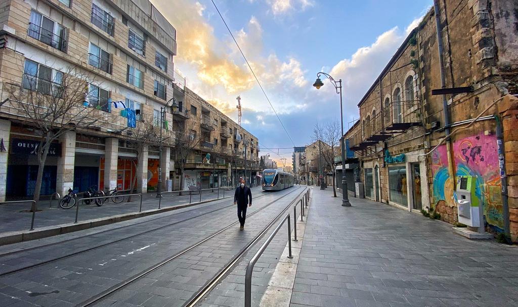 ירושלים שוממה (צילום: איתן אסרף) (צילום: איתן אסרף)