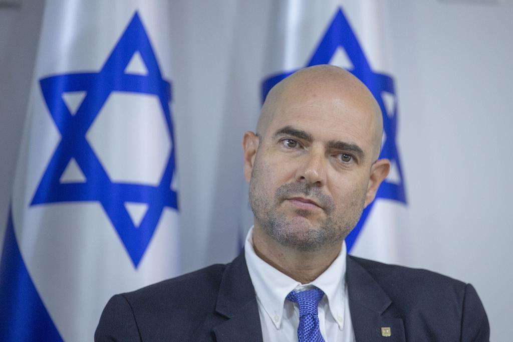 אמיר אוחנה (צילום: אוהד צויגנברג)