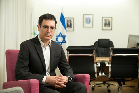 Health Ministry Director-General Moshe Bar-Siman-Tov  ()
