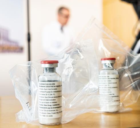 אמפולות של התרופה רמדסיביר (צילום: רויטרס)
