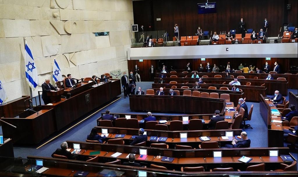 השבעת הממשלה בשבוע שעבר  (צילום: עדינה ולמן, דוברות הכנסת)