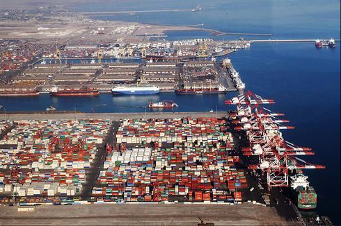 Iran's Shahid Rajaee Port ()