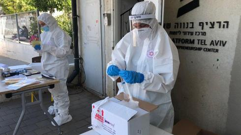 Coronavirus tests in southern Tel Aviv  ()