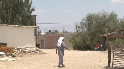 A Palestinian village in the Jordan Valley  ()