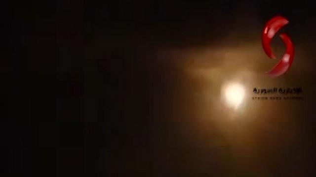 Воздушные удары по целям в Сирии ()