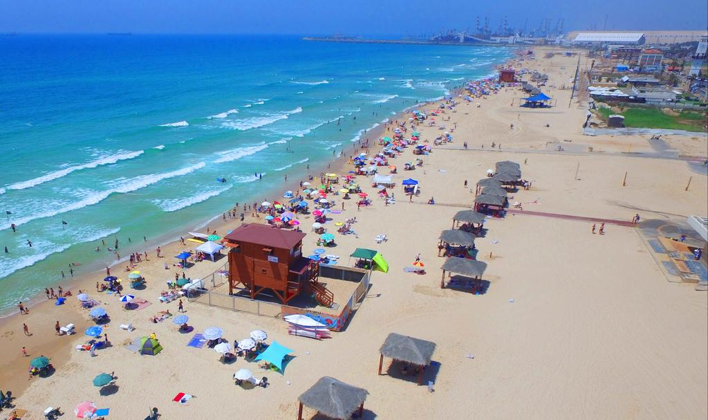 חוף הים באשדוד (צילום: מייק אדרי)