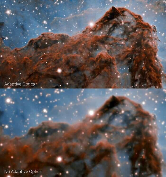צילום: מצפה הכוכבים בדרום צ'ילה