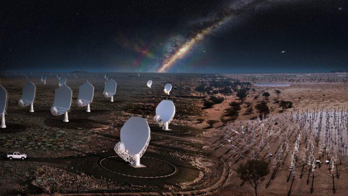 מקור: SKA Observatory