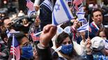 ניו יורק בכחול-לבן: מאות צעדו וחגגו 73 שנות עצמאות לישראל