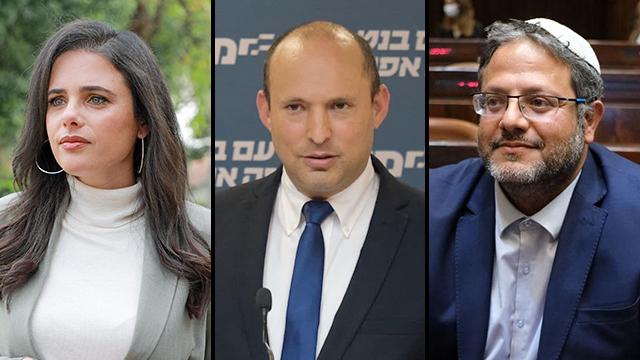 בן גביר: איילת ונפתלי חתכו לשמאל, מקימים ממשלה עם עבאס