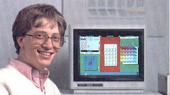 """""""Bill Gates selling windows"""" by niallkennedy is licensed with CC BY-NC 2.0. To view a copy of this license, visit https://creativecommons.org/licenses/by-nc/2.0/"""